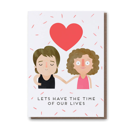 Time of Our Lives - Dirty Dancing Card - Front & Company: Gift Store