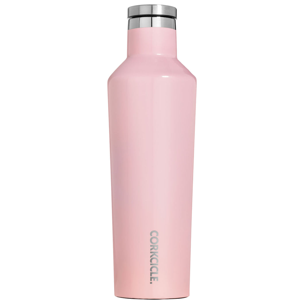 Corkcicle 16oz Stainless Steel Canteen - Rose Quartz