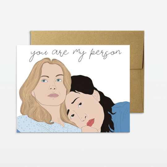 You're My Person Greeting Card - Front and Company: Gifts