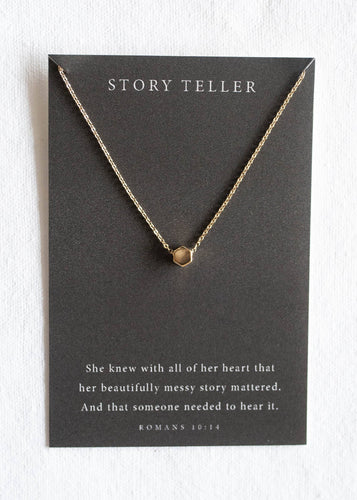 Story Teller Necklace - Front & Company: Gift Store