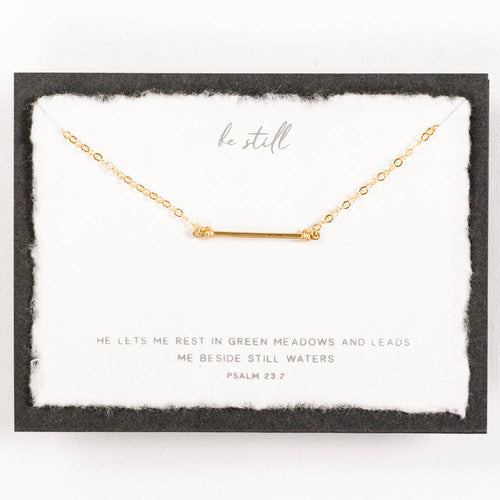 Be Still Necklace - Front & Company: Gift Store