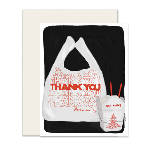 Takeout Thank You Card - Front & Company: Gift Store