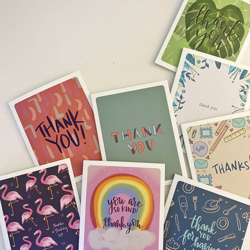 thank you card set (8 cards w/envelopes) - Front & Company: Gift Store