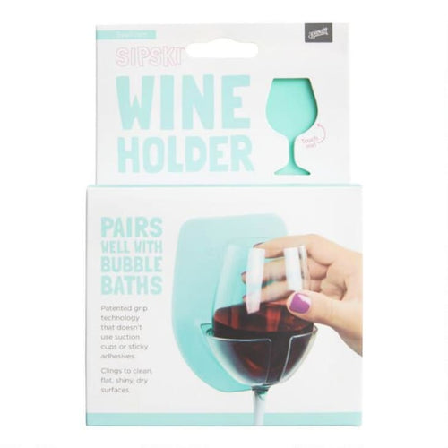 Shower & Bath Wine Holder - Front & Company: Gift Store