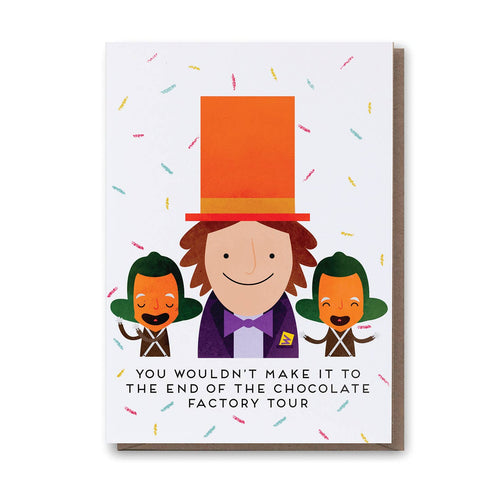 Willy Wonka Card - Front & Company: Gift Store