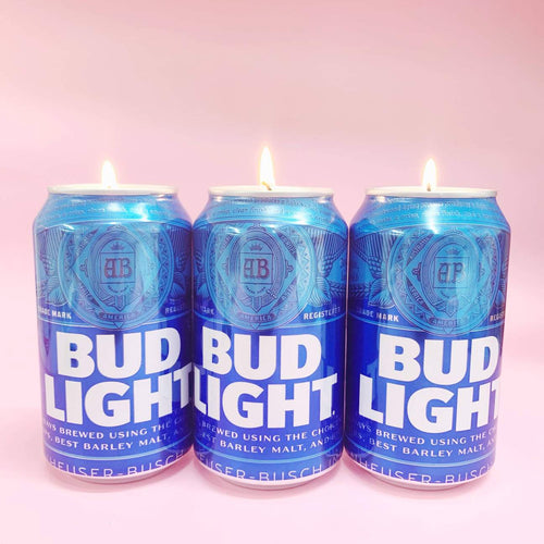 Bud Light Candle - Front & Company: Gift Store
