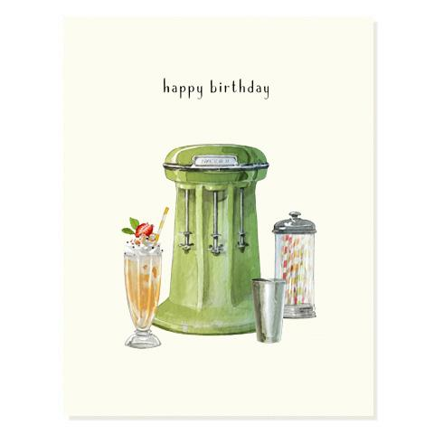 Well Blended Birthday Card