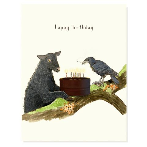 Birthday Rebels Card - Front & Company: Gift Store