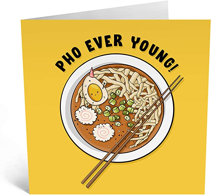 Pho Ever Young! Card