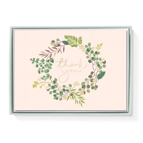 Eucalyptus Thank You Card - Front & Company: Gift Store