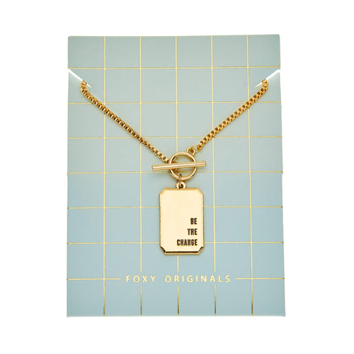 Unstoppable - Be The Change Necklace - Front & Company: Gift Store