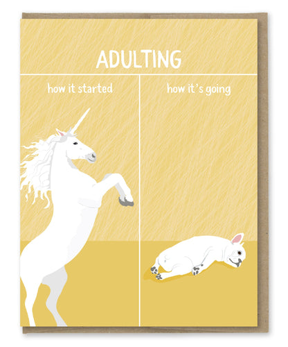 How's It Going - Adult Card - Front & Company: Gift Store