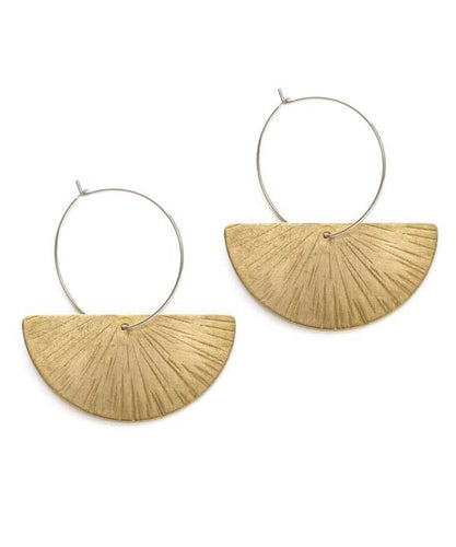 Ray of Light Earrings - Front & Company: Gift Store