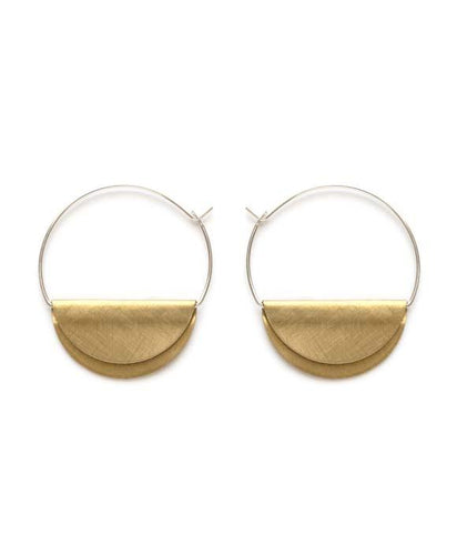 Hathor Hoops - petite - Front & Company: Gift Store
