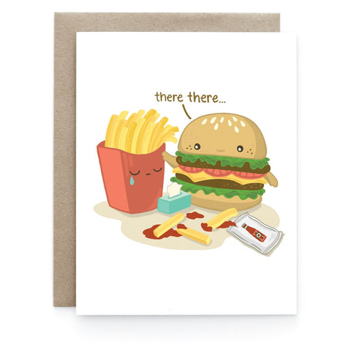Comfort Food Encouragement Greeting Card - Front & Company: Gift Store