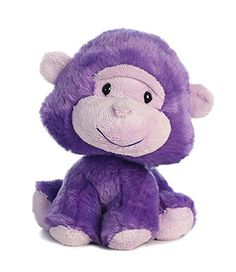 Wobbly Bobbles Purple Monkey