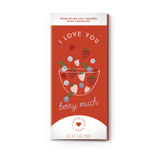 Load image into Gallery viewer, I Love You Berry Much Chocolate Bar & Card