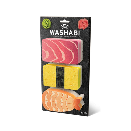 Washabi Sponges - Front & Company: Gift Store