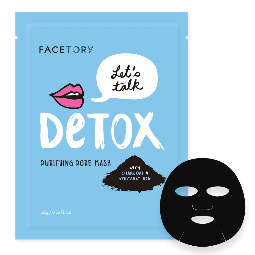 Let's Talk Detox Purifying Pore Mask - Front and Company: Gifts