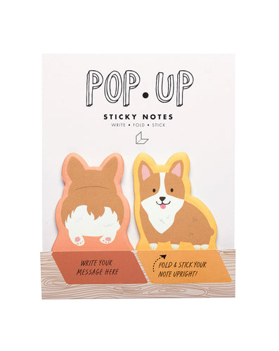Dogs Pop Up Sticky Note - Front & Company: Gift Store