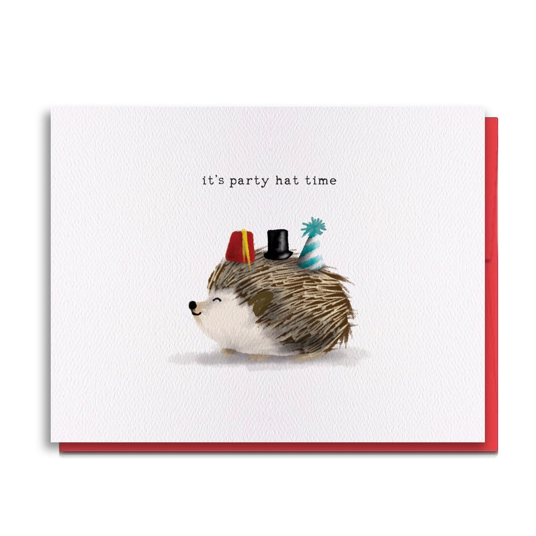 Hedgehog Party Time Hat