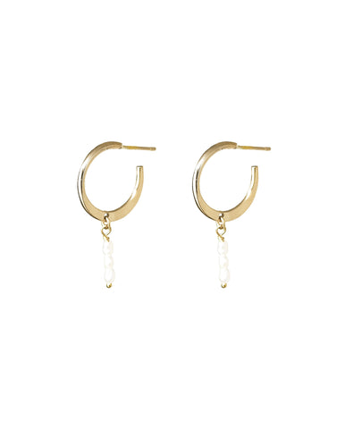 Clove Hoop Earrings - Front & Company: Gift Store