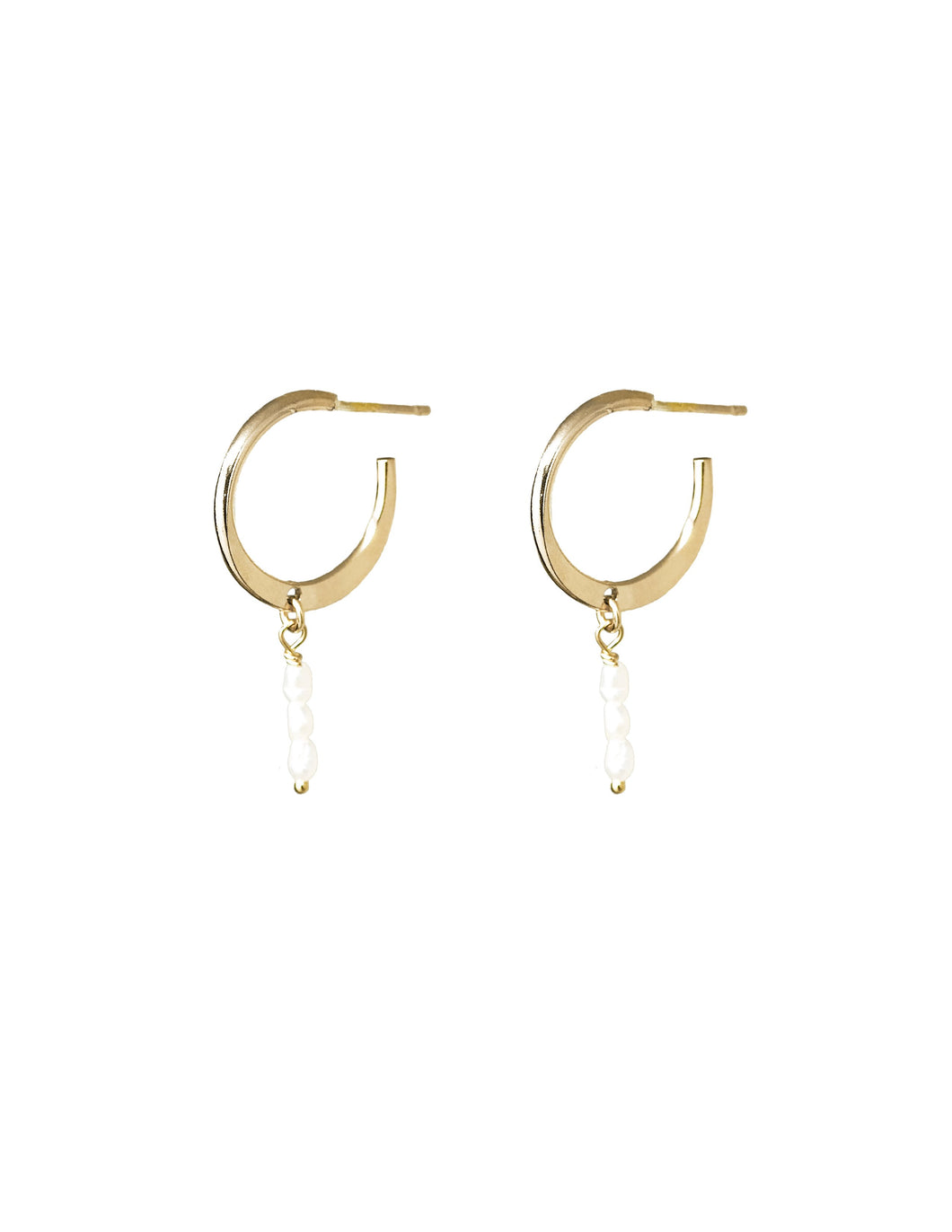 Clove Hoop Earrings - Front and Company: Gifts