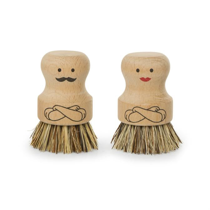 Mr. And Mrs. Scrubber