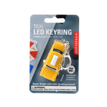 Load image into Gallery viewer, Taxi LED Keychain