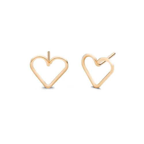 Heart Earrings - Front & Company: Gift Store