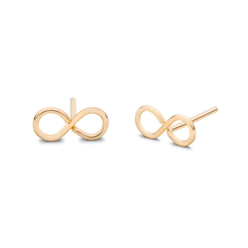 Infinity Stud Earrings - Front & Company: Gift Store