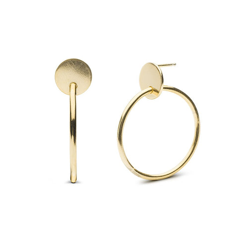 Cassia Hoops Earrings - Front & Company: Gift Store