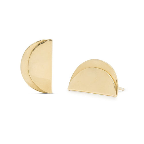 Folded Stud Earrings - Front & Company: Gift Store