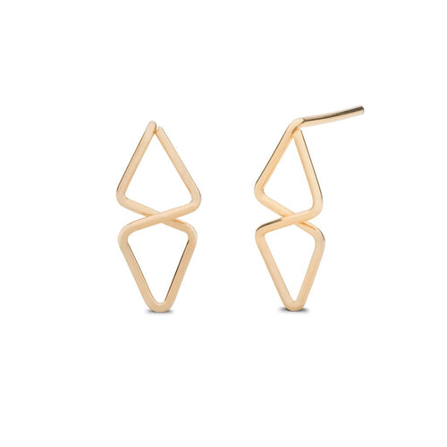 Aztec Stud Earrings - Front & Company: Gift Store