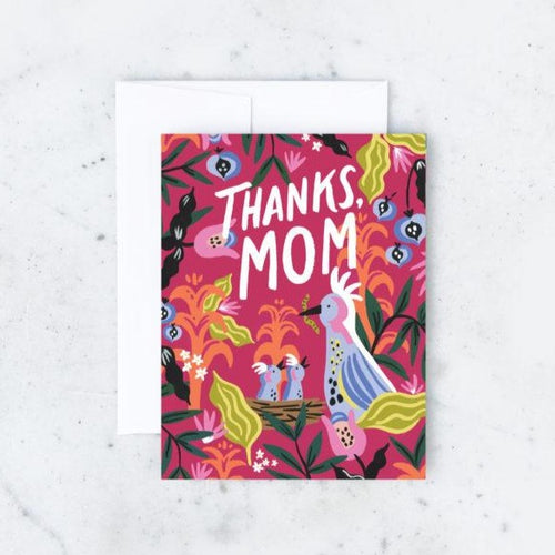Thanks, Mom! Card - Front & Company: Gift Store