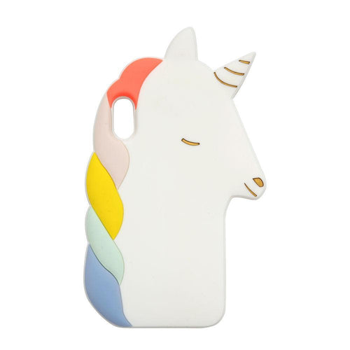 Unicorn Soft Silicone Iphone Case (XR) - Front & Company: Gift Store