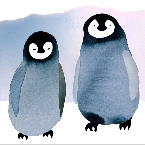 Penguin Pair Valentine's Card - Front & Company: Gift Store