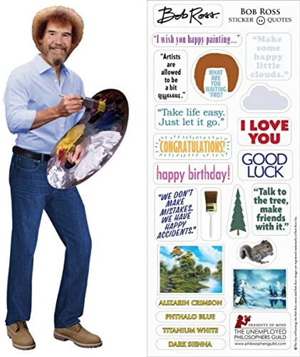 Bob Ross Quotable Notable - Front & Company: Gift Store