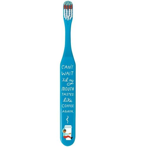Tastes Like Coffee Again Toothbrush - Front & Company: Gift Store