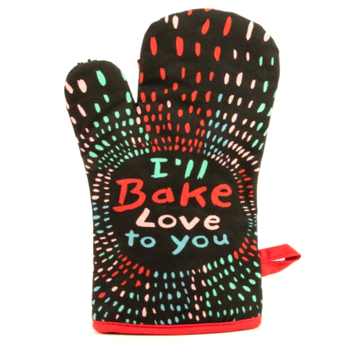 I'll Bake Love To You Oven Mitt - Front & Company: Gift Store