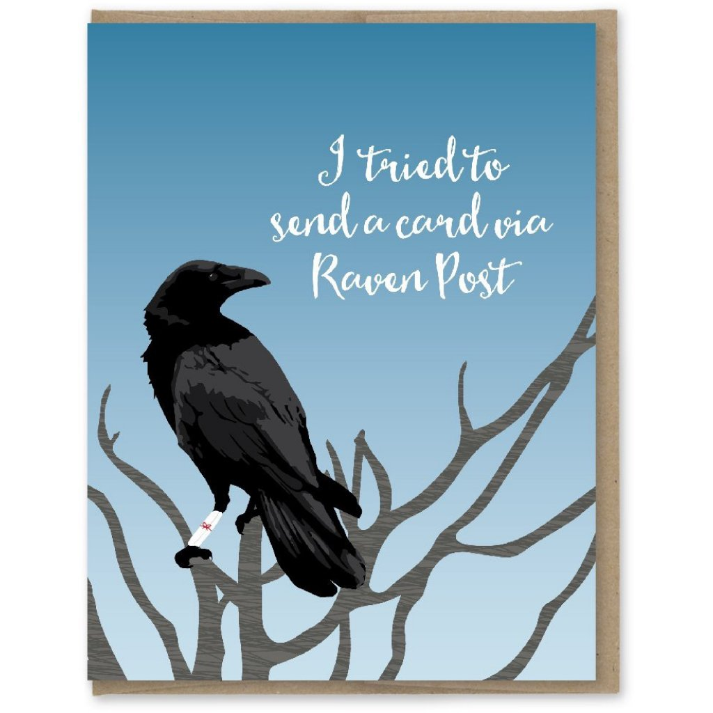 Send A Raven Birthday Card