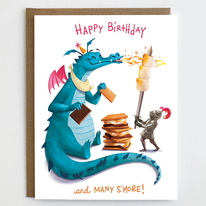 Many S'more Birthday Card