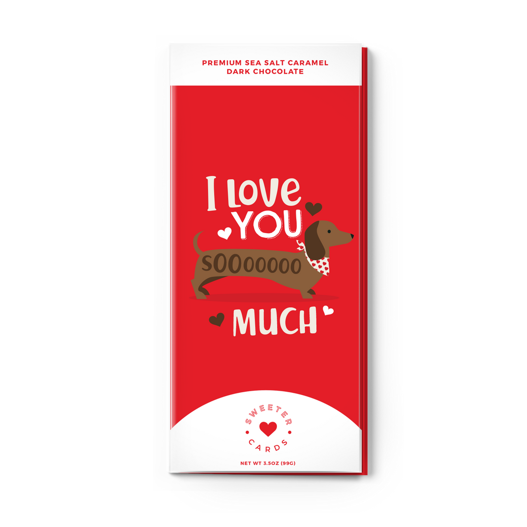 Love You Sooo Much Chocolate Bar & Card