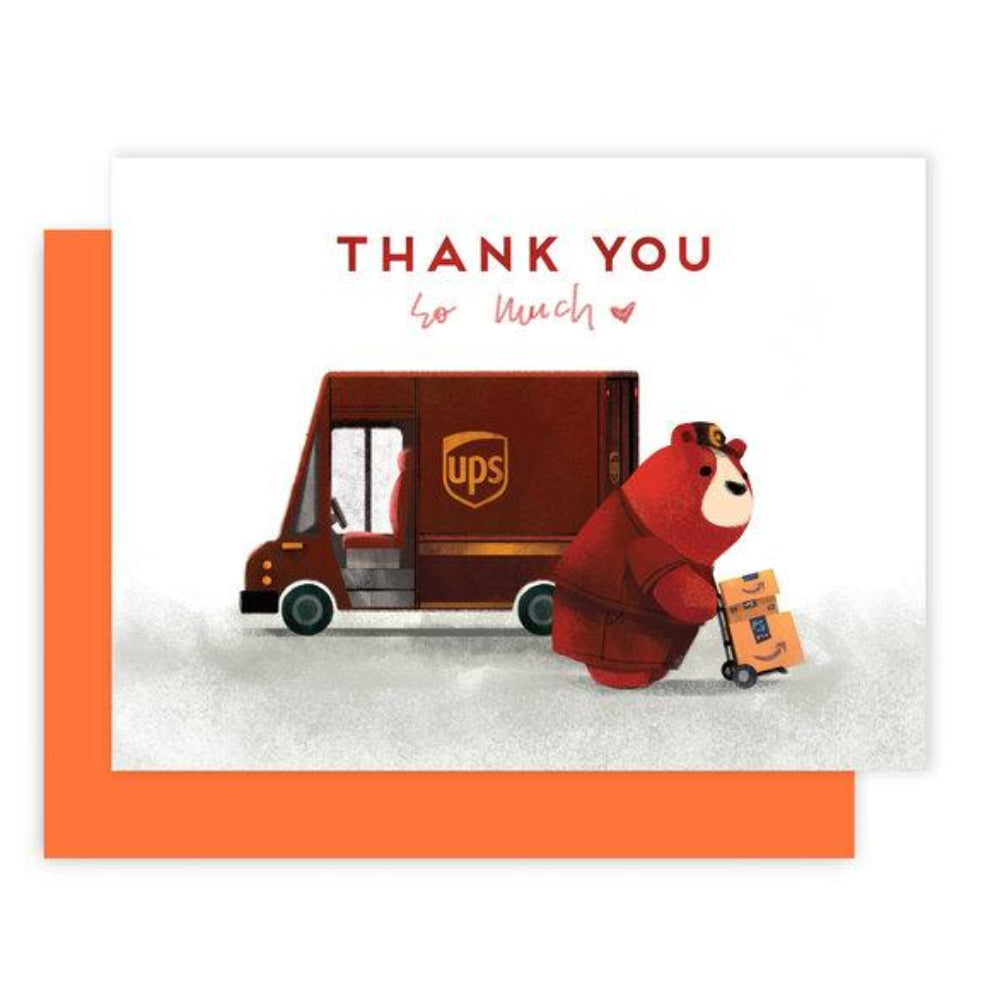 UPS Thank You Card