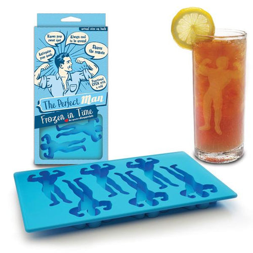 Perfect Man Ice Tray/Molds - Front & Company: Gift Store