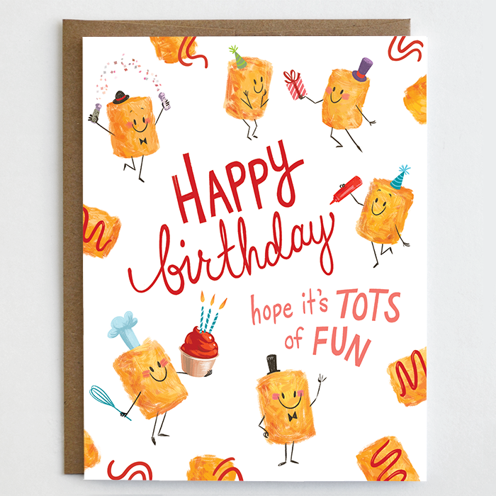 Tots of Fun Birthday Card