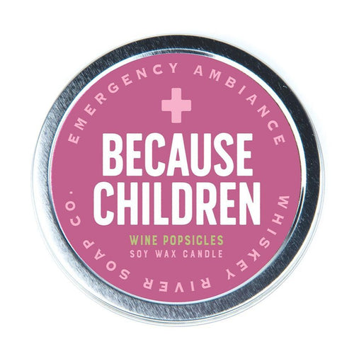 Because Children Emergency Ambience Candle - Front & Company: Gift Store