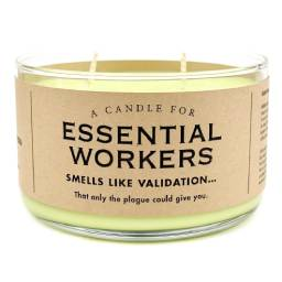 Essential Workers Candle