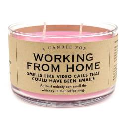 Working From Home Candle - Front & Company: Gift Store