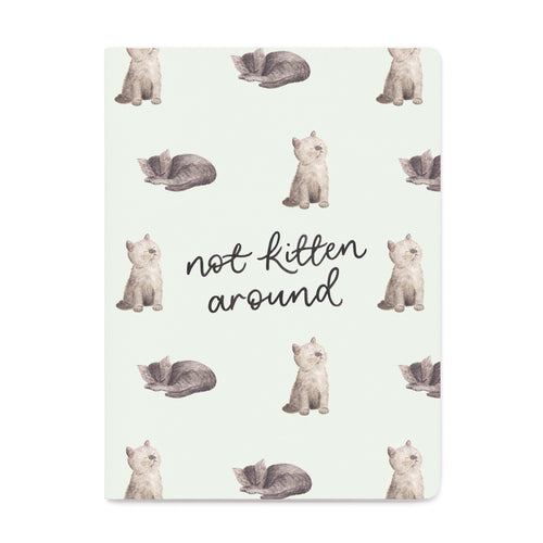 Not Kitten Around Weekly Planner - Front & Company: Gift Store